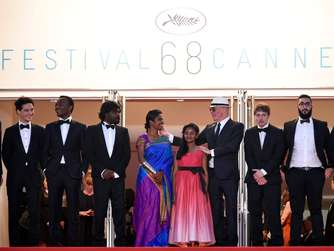 Dheepan, Cannes