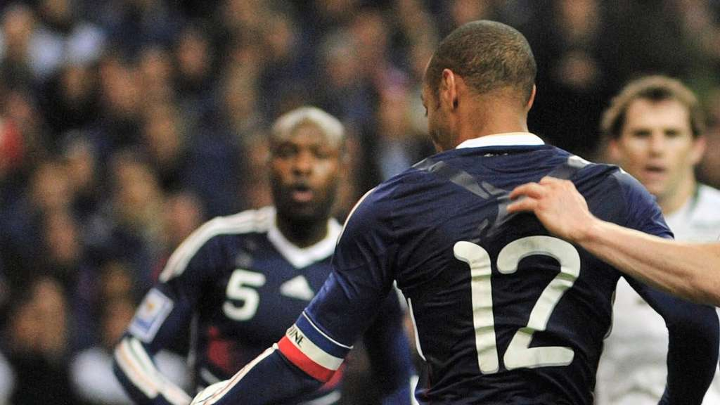 Thierry Henry, William Gallas, Frankreich, Irland, EM 2016 Frankreich
