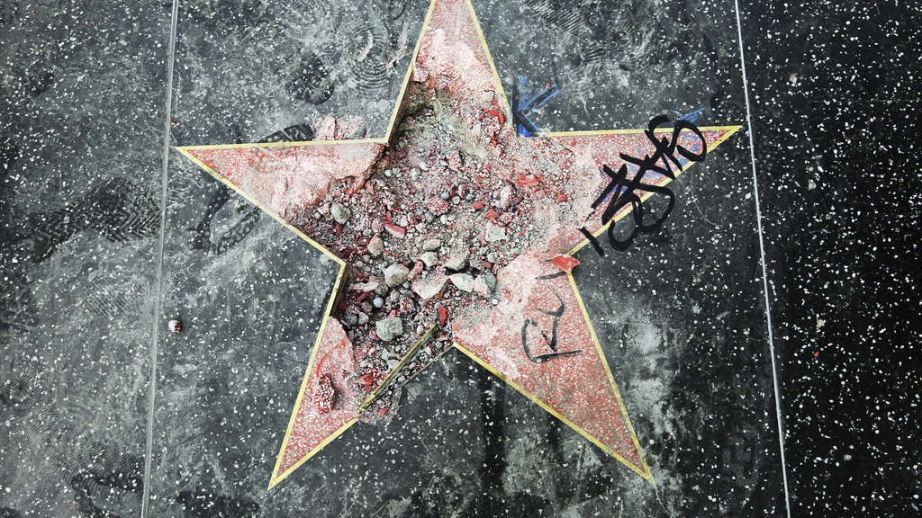 Walk of Fame Stern von Trump