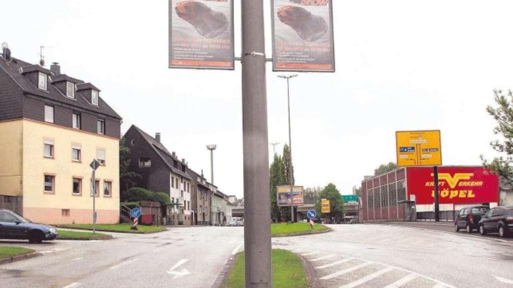 Stadt vermarktet die Laternen-Masten | Remscheid