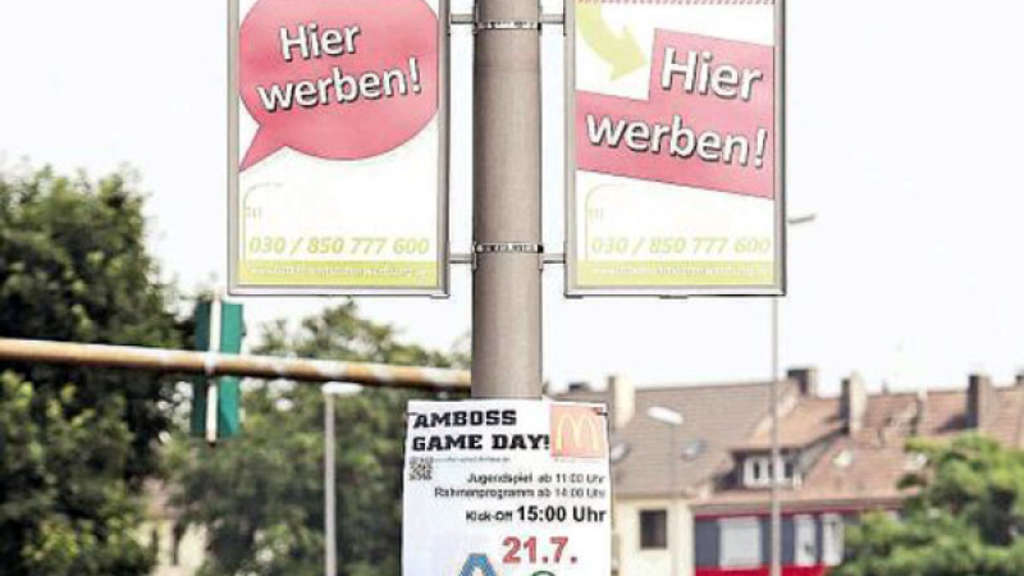 Berliner wollen mehr an die Masten hängen | Remscheid