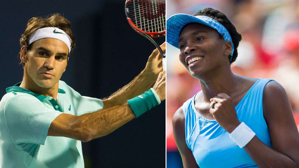 Venus Williams, Roger Federer
