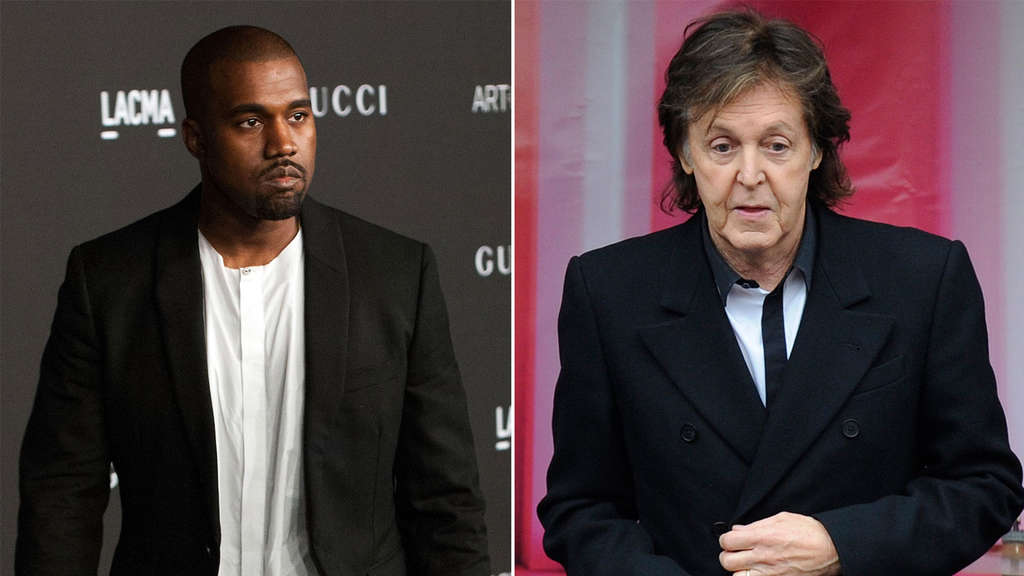 Kanye West Paul McCartney