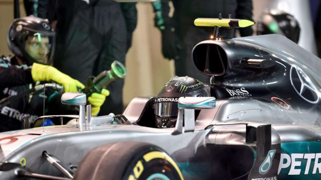 Mercedes-Pilot Nico Rosberg will auch in China gewinnen. Foto: Andrej Isakovic