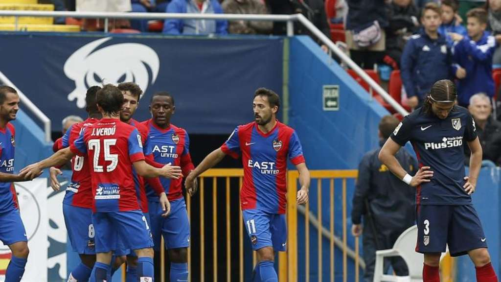 Levante bezwang Atlético Madrid mit 2:1. Foto: Kai Foersterling