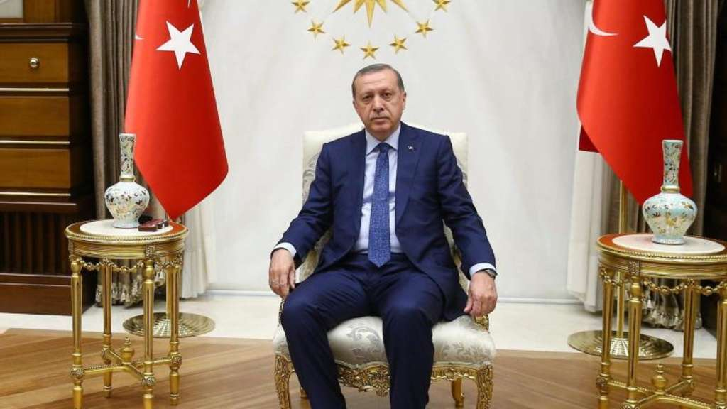 Das Treffen der Kanzlerin mit dem türkischen Staatschef Erdogan könnte heikel werden. Foto: Turkish President Press Office