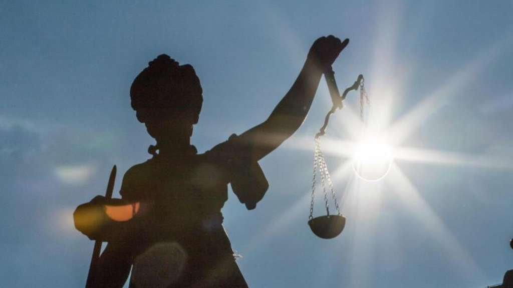Justitia. Foto: Frank Rumpenhorst/Illustration