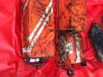 Officials find two black boxes from Colombia plane crash