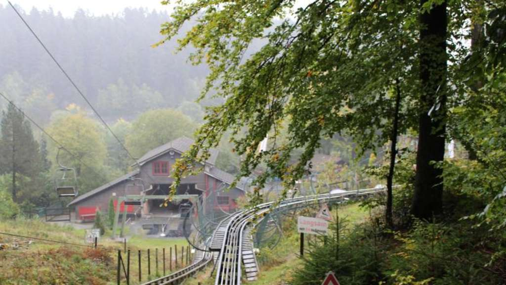 Die Sommerrodelbahn Alpine Coaster Trapper in Bestwig. Foto: Fort Fun