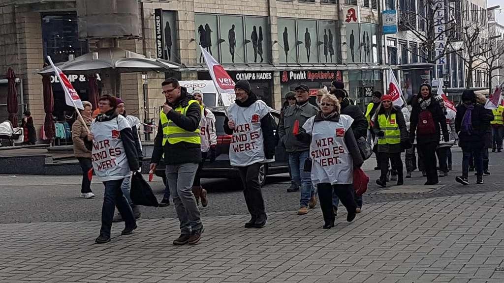 Liveticker Der Streik In Remscheid Remscheid