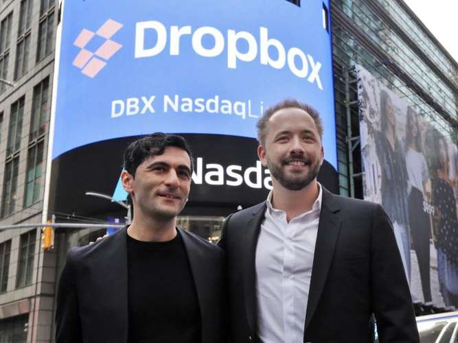 Dropbox mit fulminantem Börsendebüt in New York