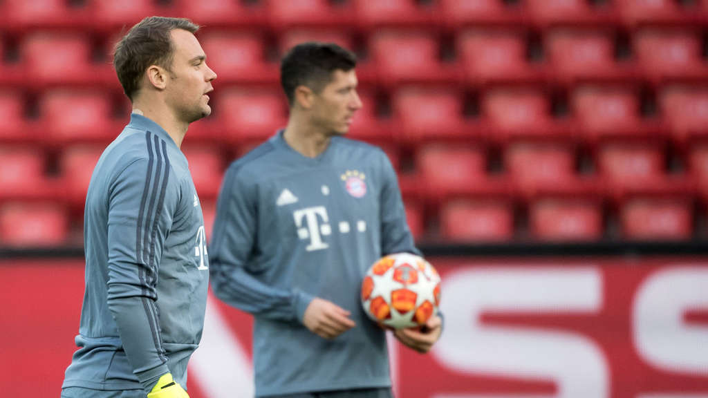 Fc Bayern München Das Ist Die Aufstellung Gegen Fc Liverpool Fußball