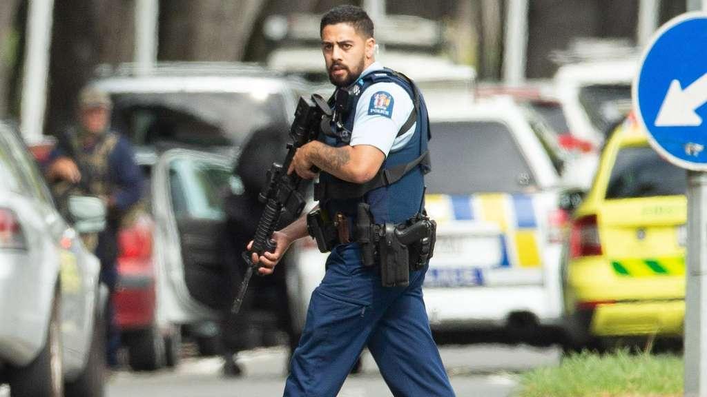 Neuseeland Attentat Image: Neuseeland/Christchurch: 49 Tote