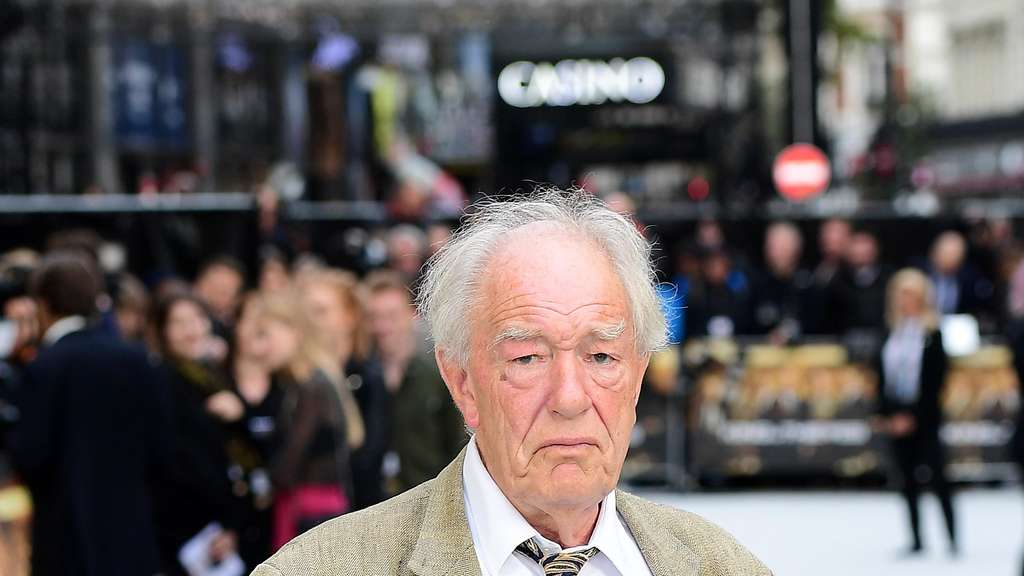 Sir Michael Gambon verkörperte Albus Dumbledore in den Harry-Potter-Filmen.