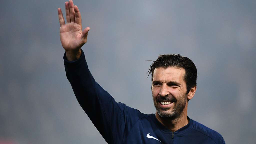 Nach einem Jahr in Paris sagt Gianluigi Buffon Adieu.