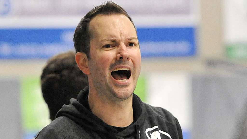 Panther-Trainer Marcel Mutz war zufrieden. Foto: Holger Battefeld