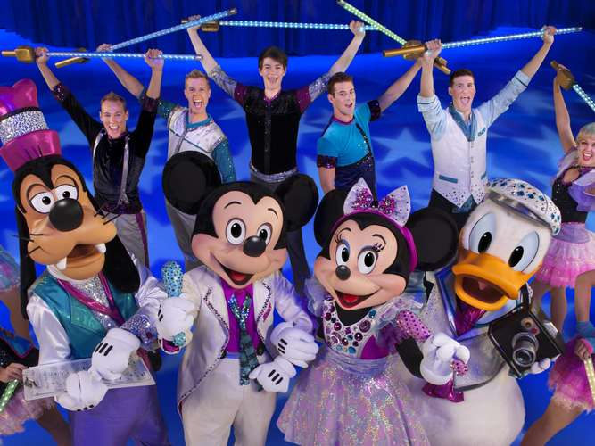 Disney on Ice im ISS Dome